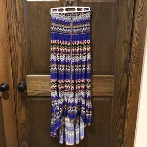 Tie-halter dress